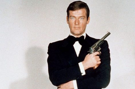 Falleció Roger Moore, actor de la saga James Bond
