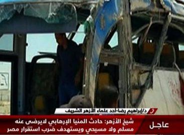 26 personas fallecieron y 27 resultaron heridas en atentado en Egipto