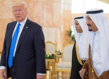 Trump inició en Arabia Saudita su primera gira internacional como presidente