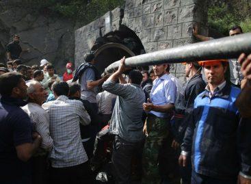 Explosión en mina de Irán dejó 43 fallecidos