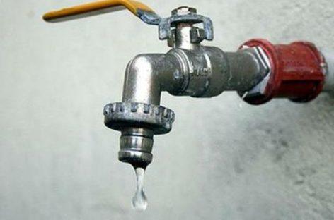 Interrumpirán servicio de agua potable en puntos de la capital este domingo