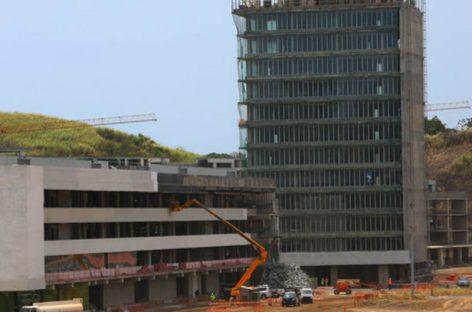 Primeras torres de la Ciudad de la Salud estarán listas en diciembre de 2018