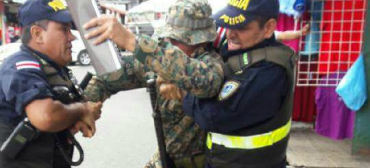 Detuvieron a miembro del Senafront en Costa Rica