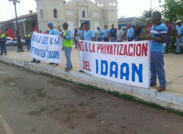 Trabajadores del IDAAN marchan en todo el país contra la privatización (Videos)