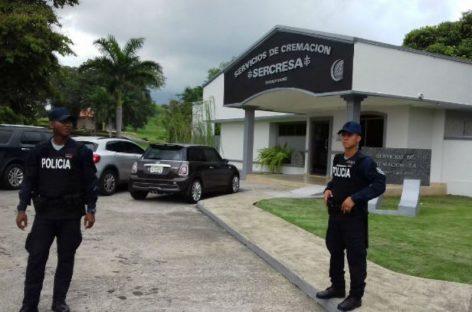 Trasladan cuerpo de Noriega a crematorio de Santa Elena