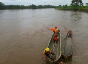 Continúa búsqueda de joven desaparecido en río Sixaola