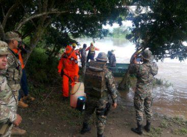 Encuentran el cuerpo desaparecido en río Sixaola