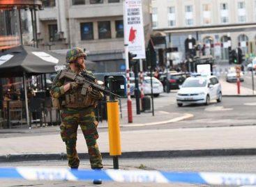 Explosión en estación de trenes originó caos en Bélgica