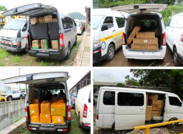 Retienen más de 50.000 dólares en mercancía en autopista Panamá-Colón