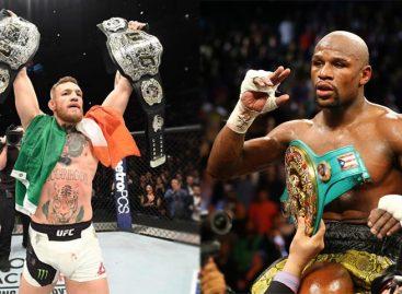 El 26 de agosto se realizará el combate Mayweather-McGregor