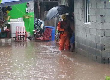 Vivienda colapsó en San Miguelito tras fuerte aguacero