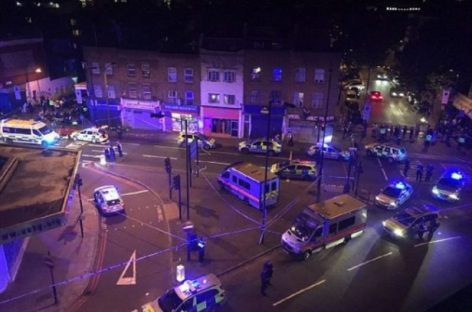 Furgoneta atropelló a peatones y causó varios heridos en Londres