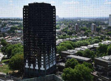 Edificio de Londres se incendió por una nevera defectuosa
