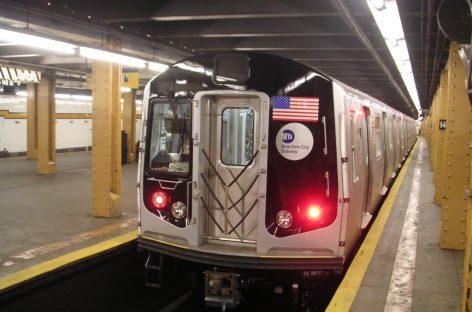 Tren del metro de Nueva York se descarriló este martes