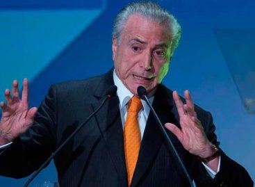 Justicia electoral de Brasil reinició proceso contra Michel Temer
