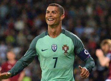 Cristiano Ronaldo le dio el triunfo a Portugal ante Rusia