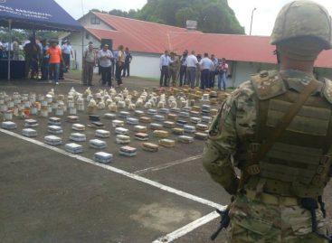 Senan decomisó 518 paquetes de cocaína en Pacífico Oriental