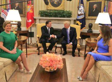 Ya inició la reunión entre Trump Varela en la Casa Blanca  (+Video y Fotos)