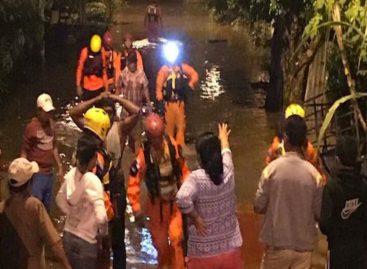 343 casas afectadas tras paso de onda tropical el fin de semana
