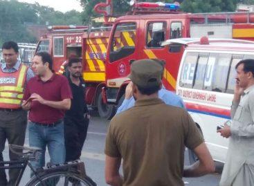 Atentado en Pakistán dejó al menos 25 muertos y 40 heridos