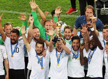 Alemania se consagró campeón de la Copa Confederaciones
