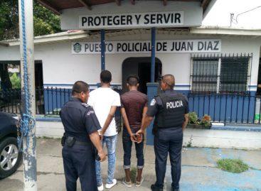 Capturaron a tres hombres que hurtaban en iglesia de Juan Díaz