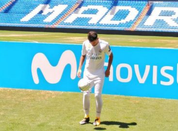 Dani Ceballos fue presentado como jugador del Real Madrid