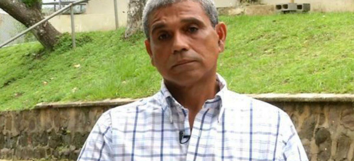Rafael Guardia Jaén abandonó la cárcel de El Renacer