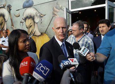 Gobernador de Florida prohibirá negocios con organizaciones que respalden a Maduro