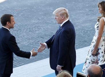 Macron a Trump: «nada separará jamás» los lazos históricos de Estados Unidos y Francia