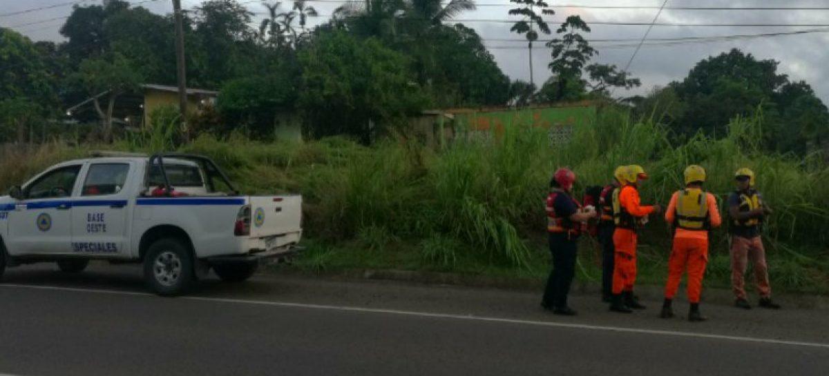Murió hombre arrastrado por quebrada tras inundaciones en Arraiján