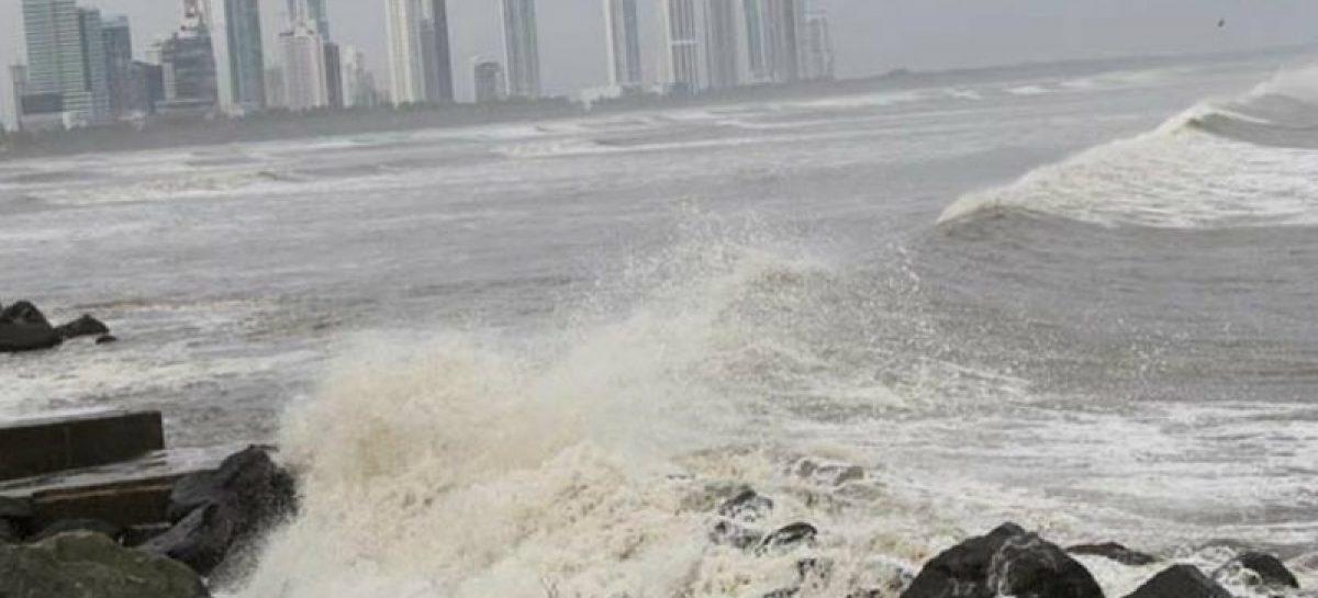 Sinaproc emite alerta de prevención por mar de fondo