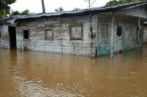 Río Tuira se desbordó en Darién: Al menos 24 familias damnificadas
