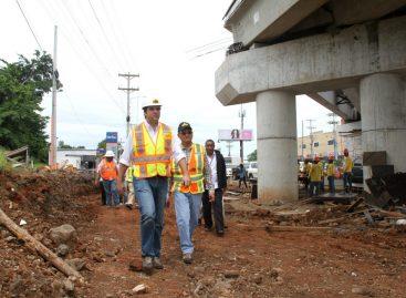 Anuncian desvíos en San Miguelito por trabajos de la línea 2 del Metro