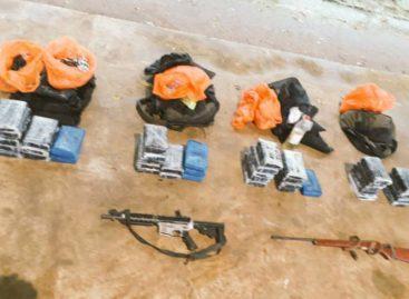 Unidades de Senafront se enfrentaron a mochileros que transportaban droga