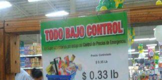 control de precios