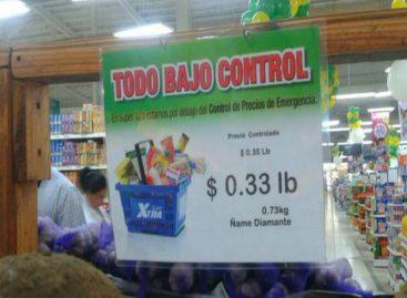 Extienden control de precios por otros seis meses