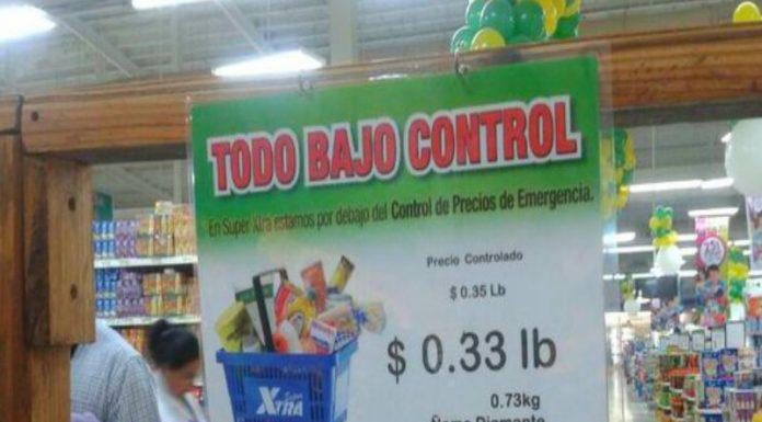 control de precios en Panamá