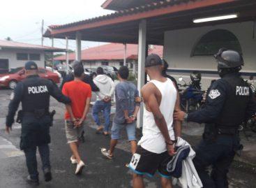 PN capturó a 13 pandilleros en Chiriquí