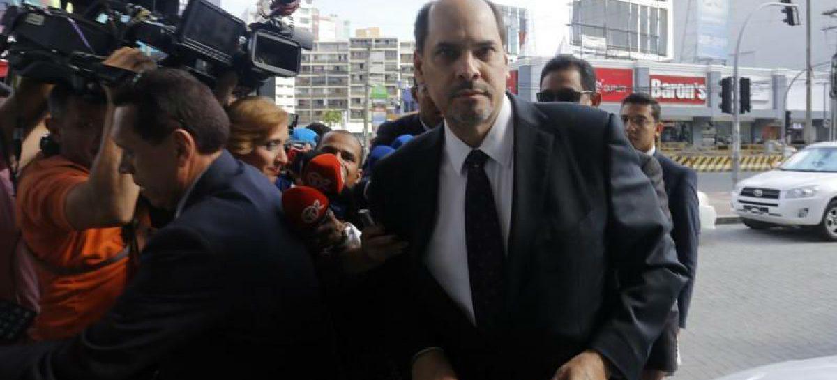 Dictan detención provisional por 48 horas contra José Domingo Arias
