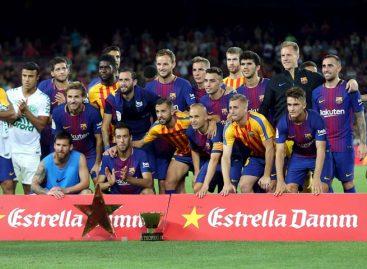 Messi y Deulofeu le dieron el Gamper al Barcelona tras vencer al Chapecoense