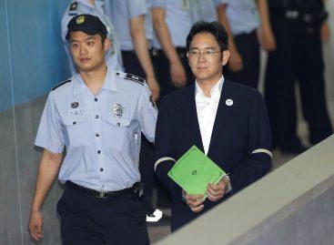 Fiscalía surcoreana pidió 12 años de prisión para heredero de Samsung