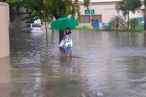 Tormenta Harvey deja inundaciones y cortes eléctricos en Barbados