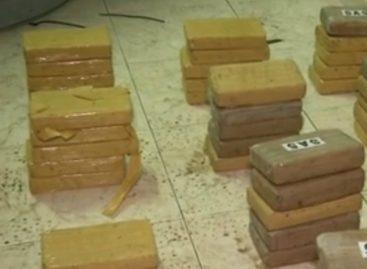 Decomisaron más de 50 paquetes de droga en Panamá Viejo