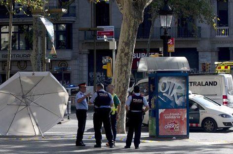 Autor del atentado de Barcelona fue abatido por la Policía catalana