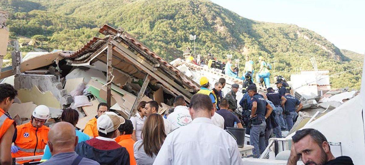 Doce heridos continúan ingresados tras el terremoto de Ischia