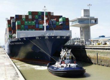 El «Theodore Roosevelt» marcó récord de tránsito en Canal de Panamá
