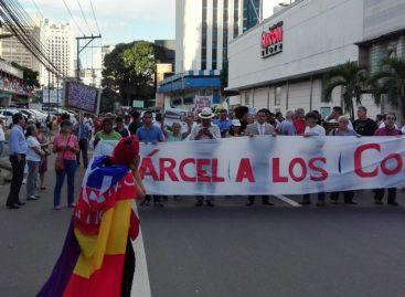 Panameños se manifestaron en contra de la corrupción