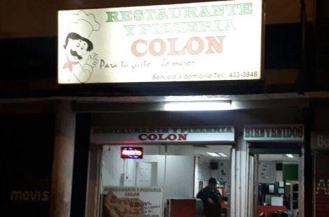 Ultimado hombre que intentó robar pizzería en Colón