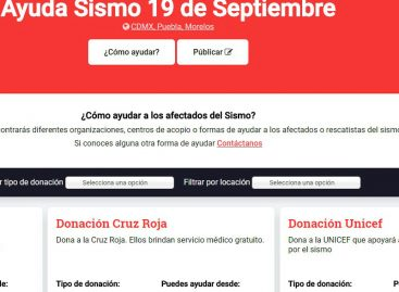 ¿Cómo ayudar a los afectados por sismo en México desde cualquier país?